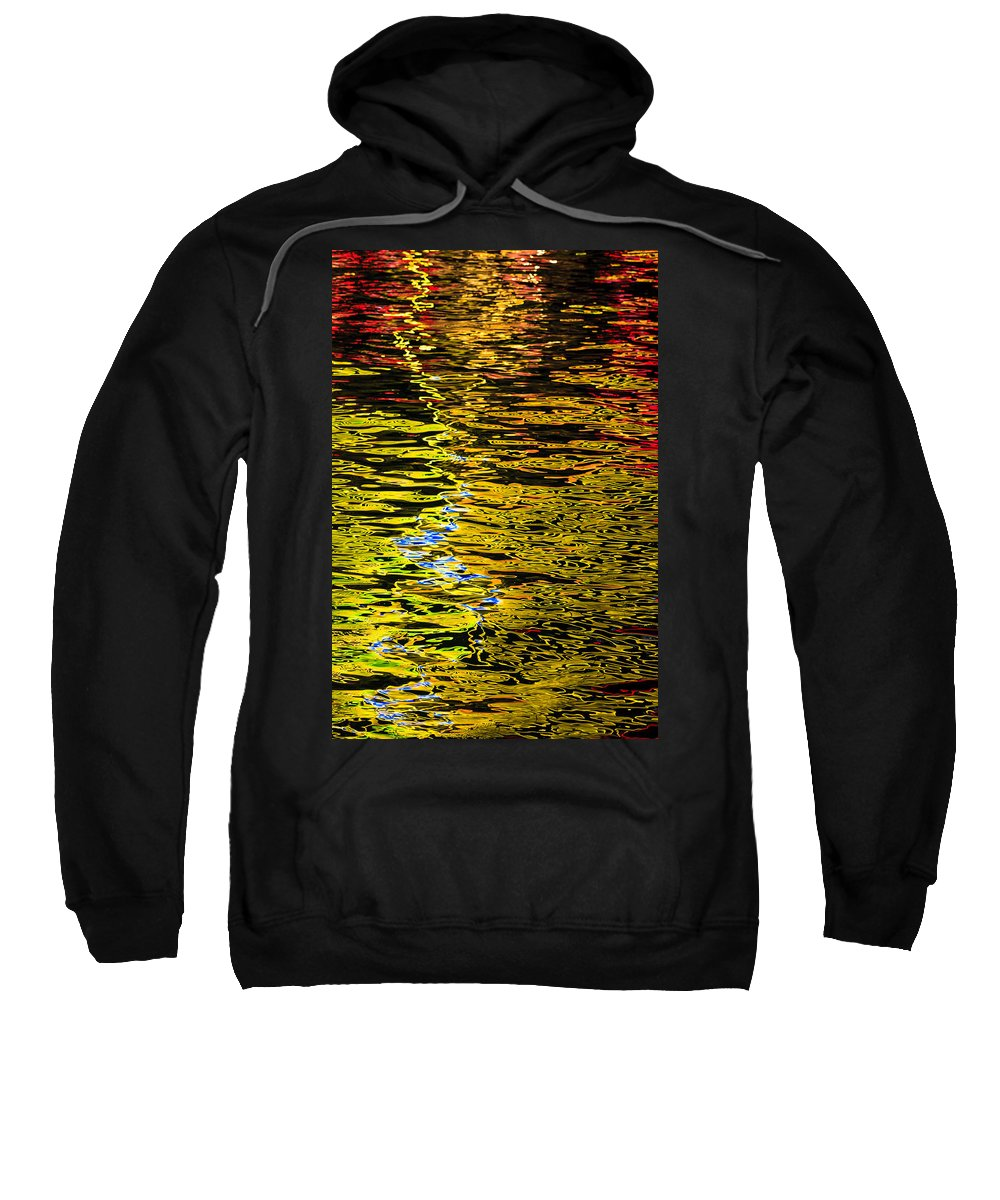 Abstract Sweatshirt featuring the photograph Abstract 301 by Mike Penney