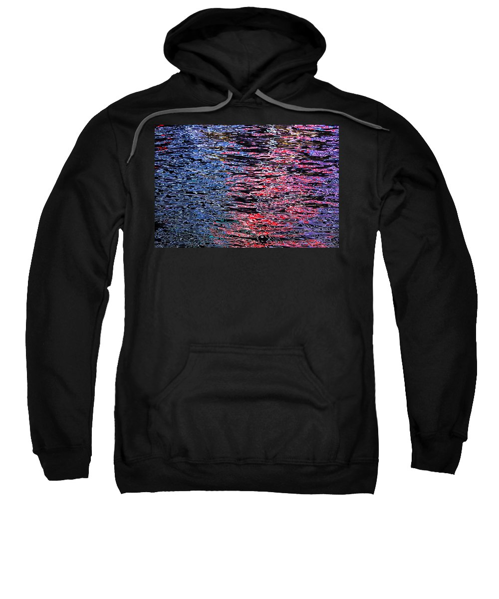 Abstract Sweatshirt featuring the photograph Abstract 367 by Mike Penney