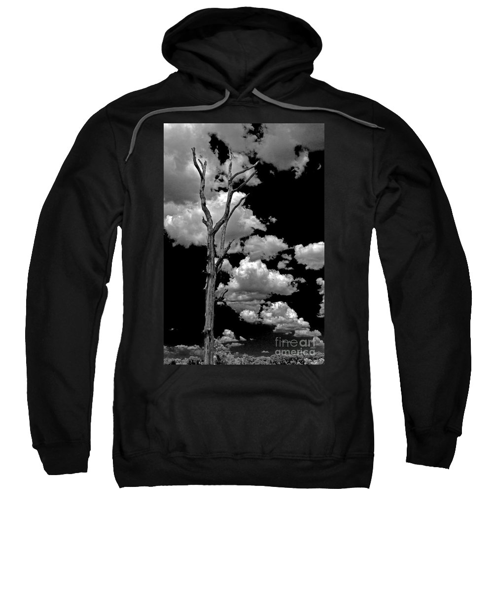 Clouds Sweatshirt featuring the photograph Against The Odds by Ken Frischkorn