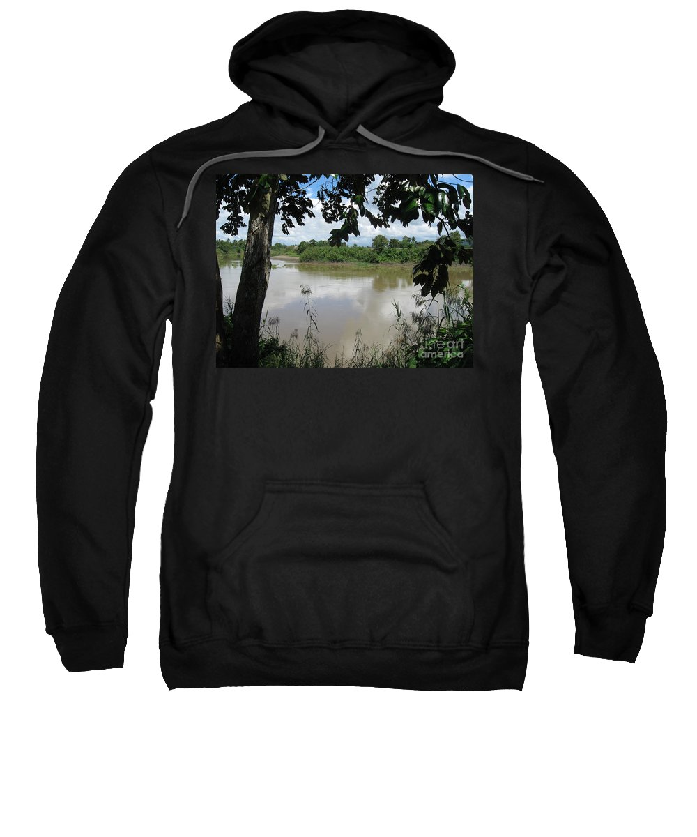 Photograph Sweatshirt featuring the photograph Agusan River Near Ja Pao by Roberto Prusso