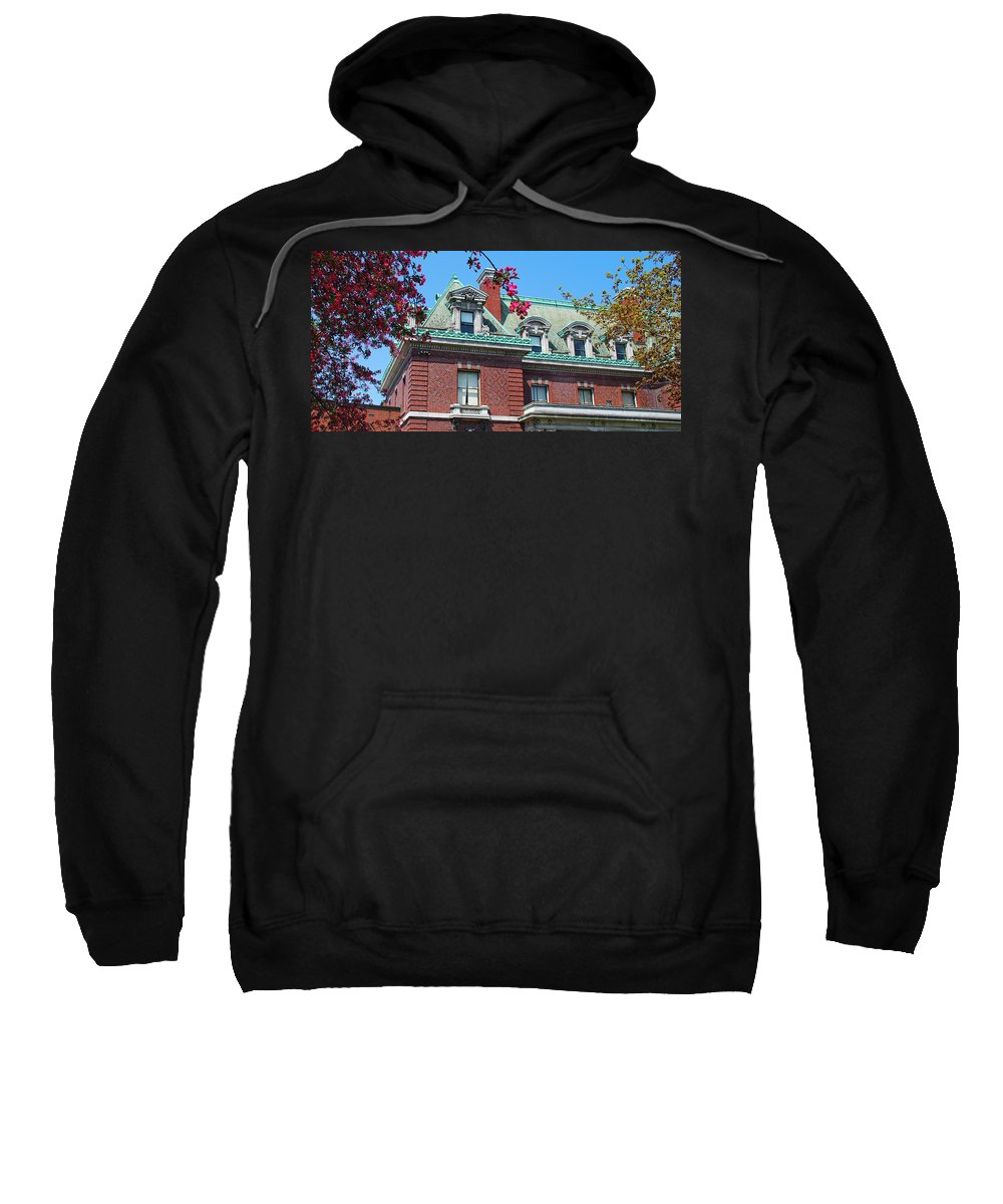 Architecture Sweatshirt featuring the photograph Ahh Buffalo by Guy Whiteley
