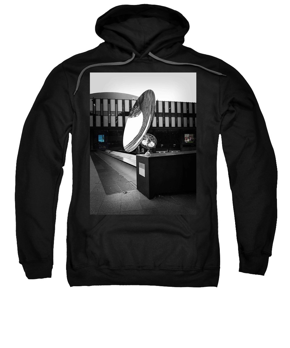 Ampliflifier Sweatshirt featuring the photograph Amplify by Charles Stuart