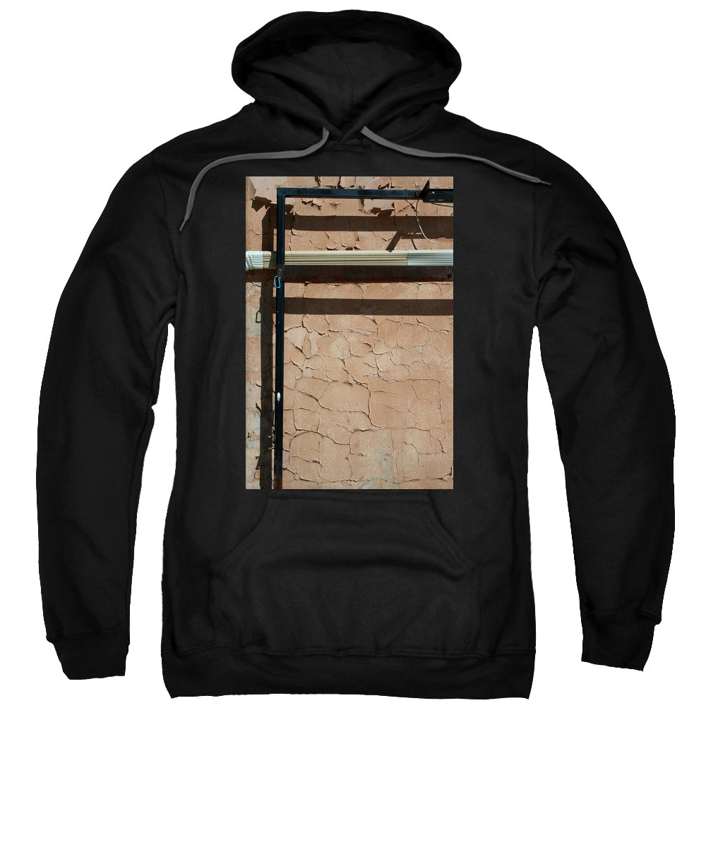 Wall Sweatshirt featuring the photograph An Abstracted Wall by Ric Bascobert
