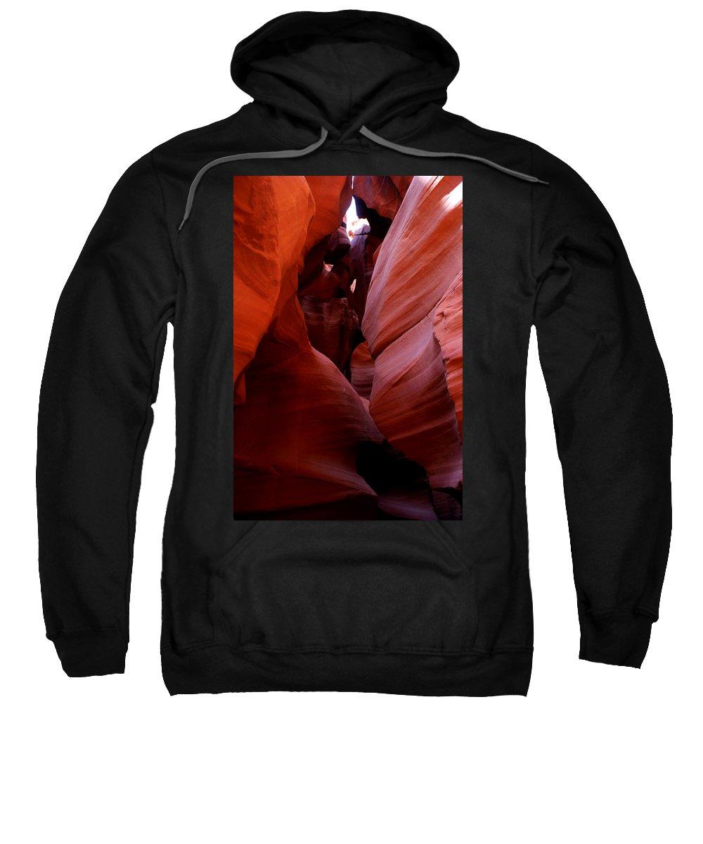 Antelope Canyon Sweatshirt featuring the photograph Antelope Canyon I by Brian Kerls