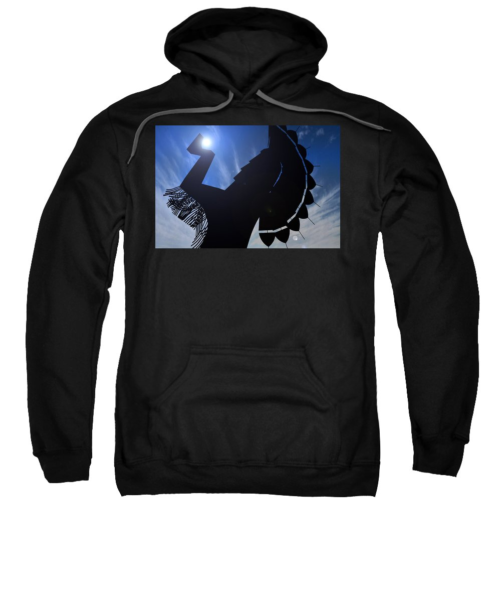 Keeper Of The Plains Sweatshirt featuring the photograph Apollo by Brian Duram