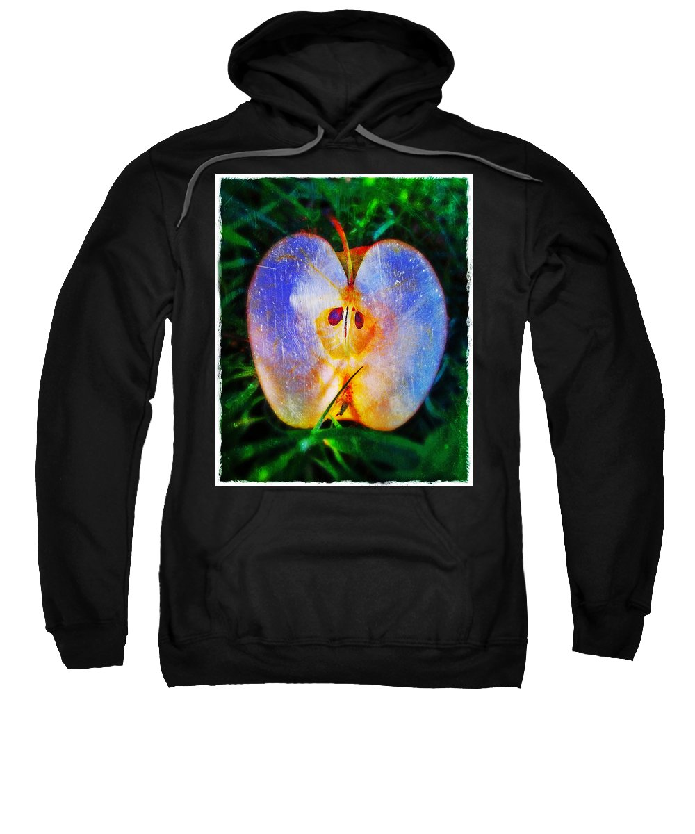 Apple 2 Sweatshirt featuring the photograph Apple 2 by Skip Hunt
