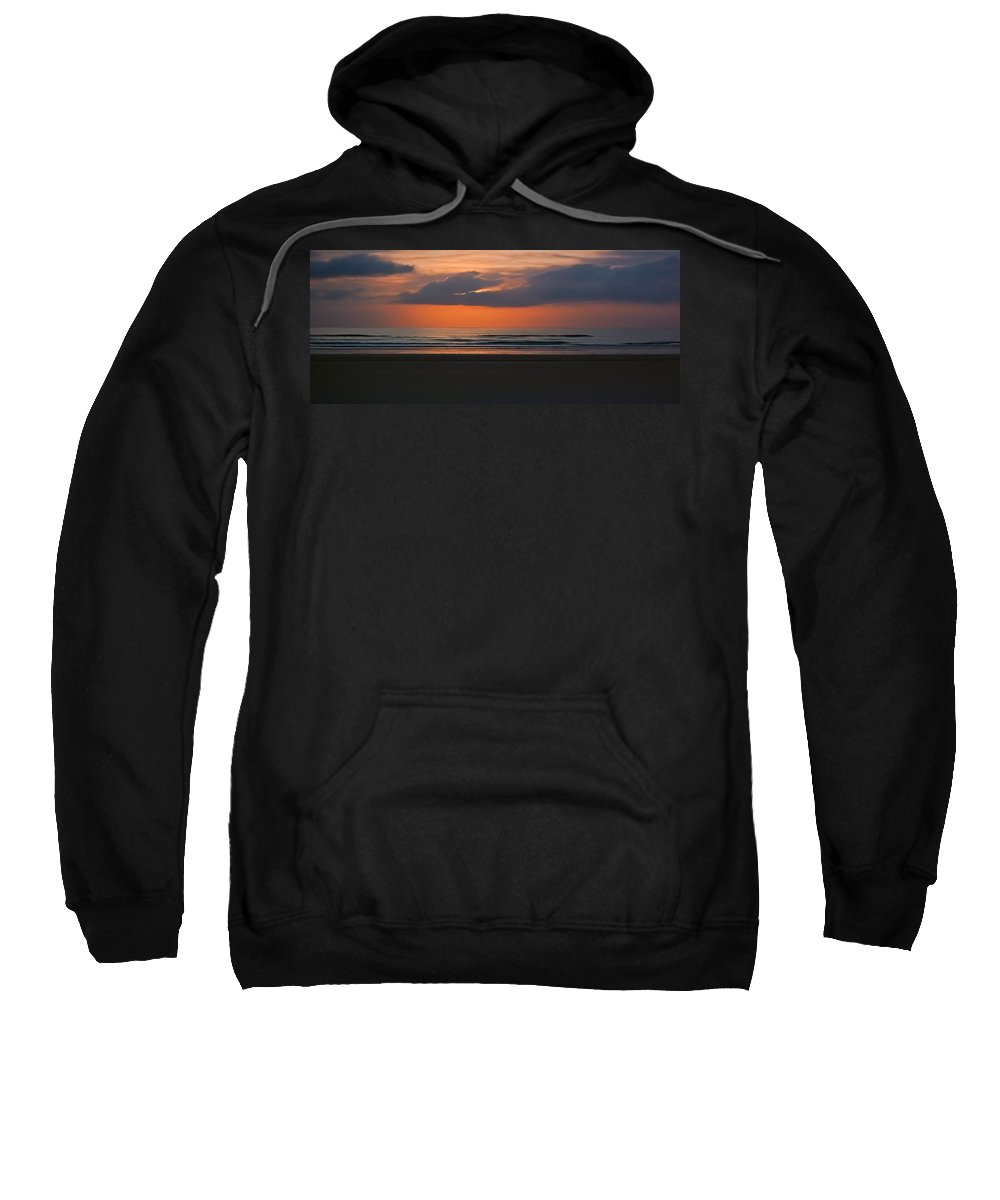 Sunrise Sweatshirt featuring the photograph April Sunrise by DigiArt Diaries by Vicky B Fuller