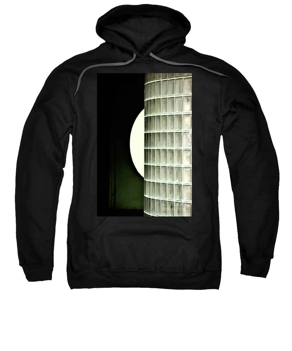 Glass Sweatshirt featuring the photograph Architectural Abstract by Frances Hattier