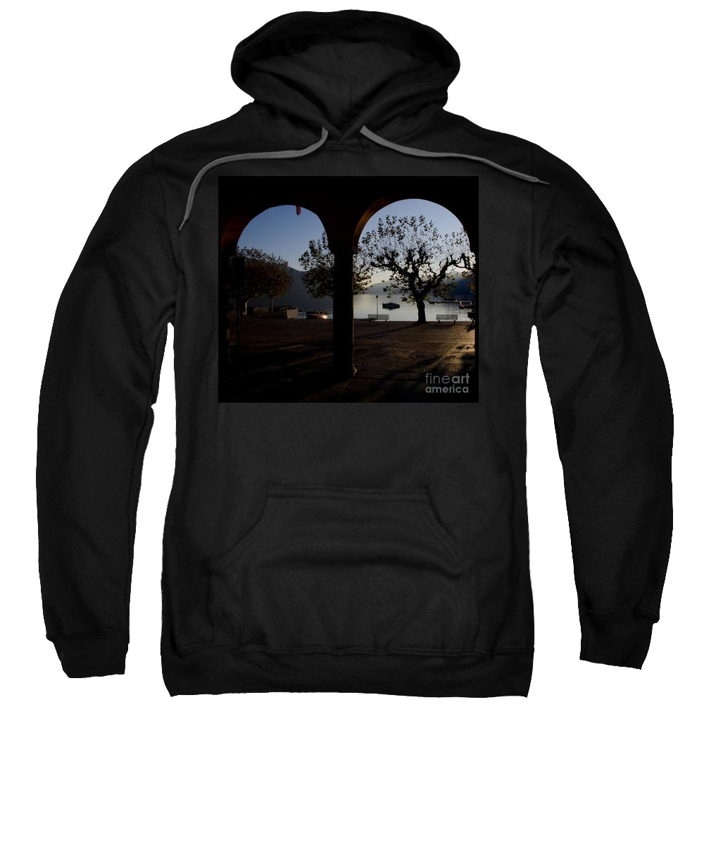 Arch Sweatshirt featuring the photograph Archs And Trees by Mats Silvan