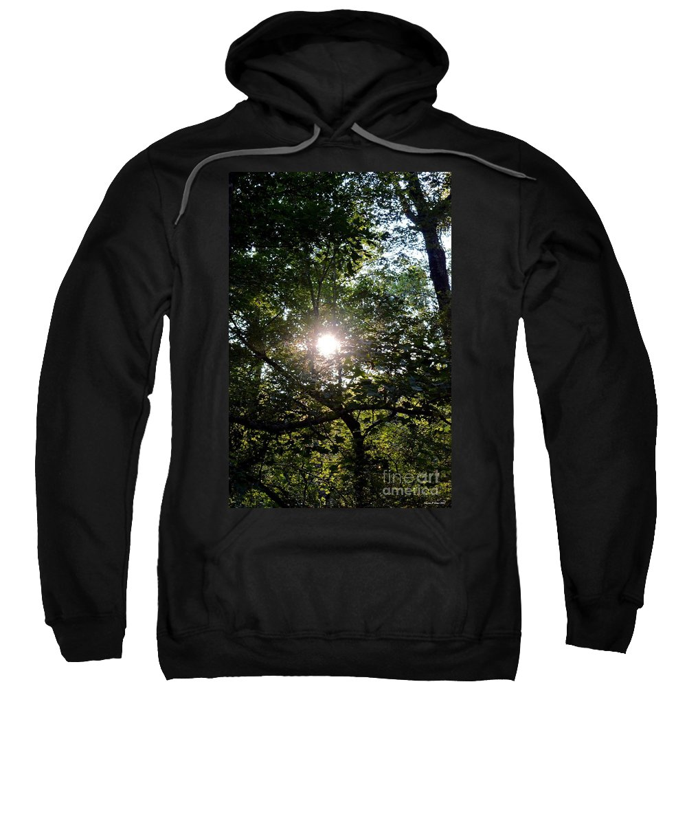At Last Light Sweatshirt featuring the photograph At Last Light by Maria Urso