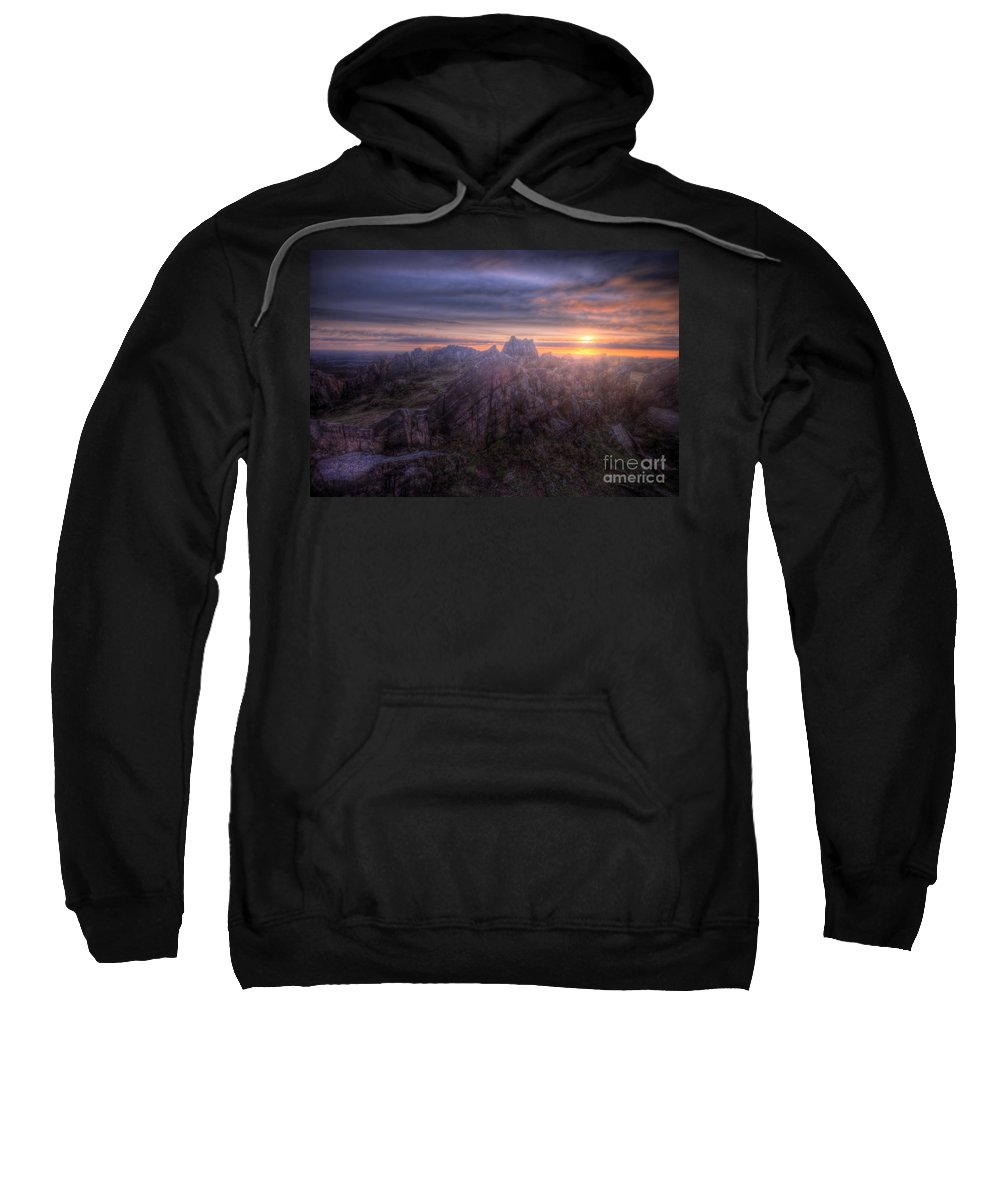 Art Sweatshirt featuring the photograph Beacon Hill Sunrise 4.0 by Yhun Suarez