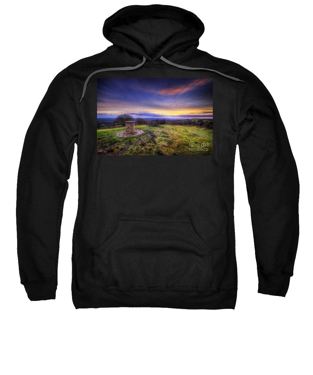 Art Sweatshirt featuring the photograph Beacon Hill Sunrise 8.0 by Yhun Suarez