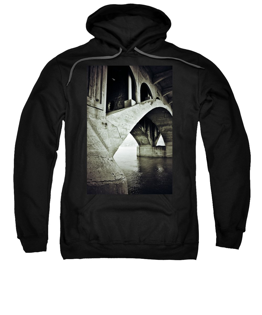 Photographer Framed Prints Sweatshirt featuring the photograph Below The Sinners Sail by The Artist Project