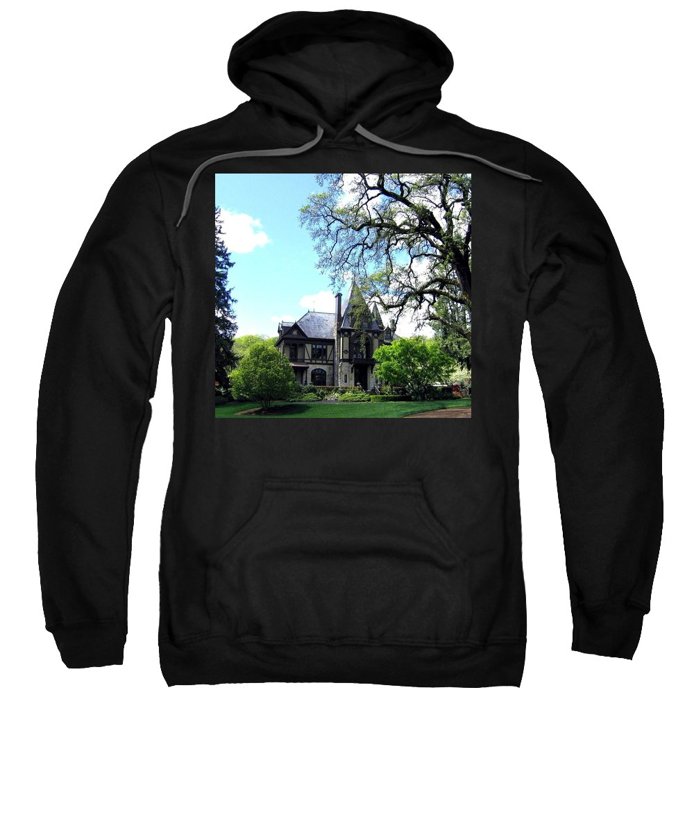 Beringers Sweatshirt featuring the photograph Beringer's Rhine House by Will Borden