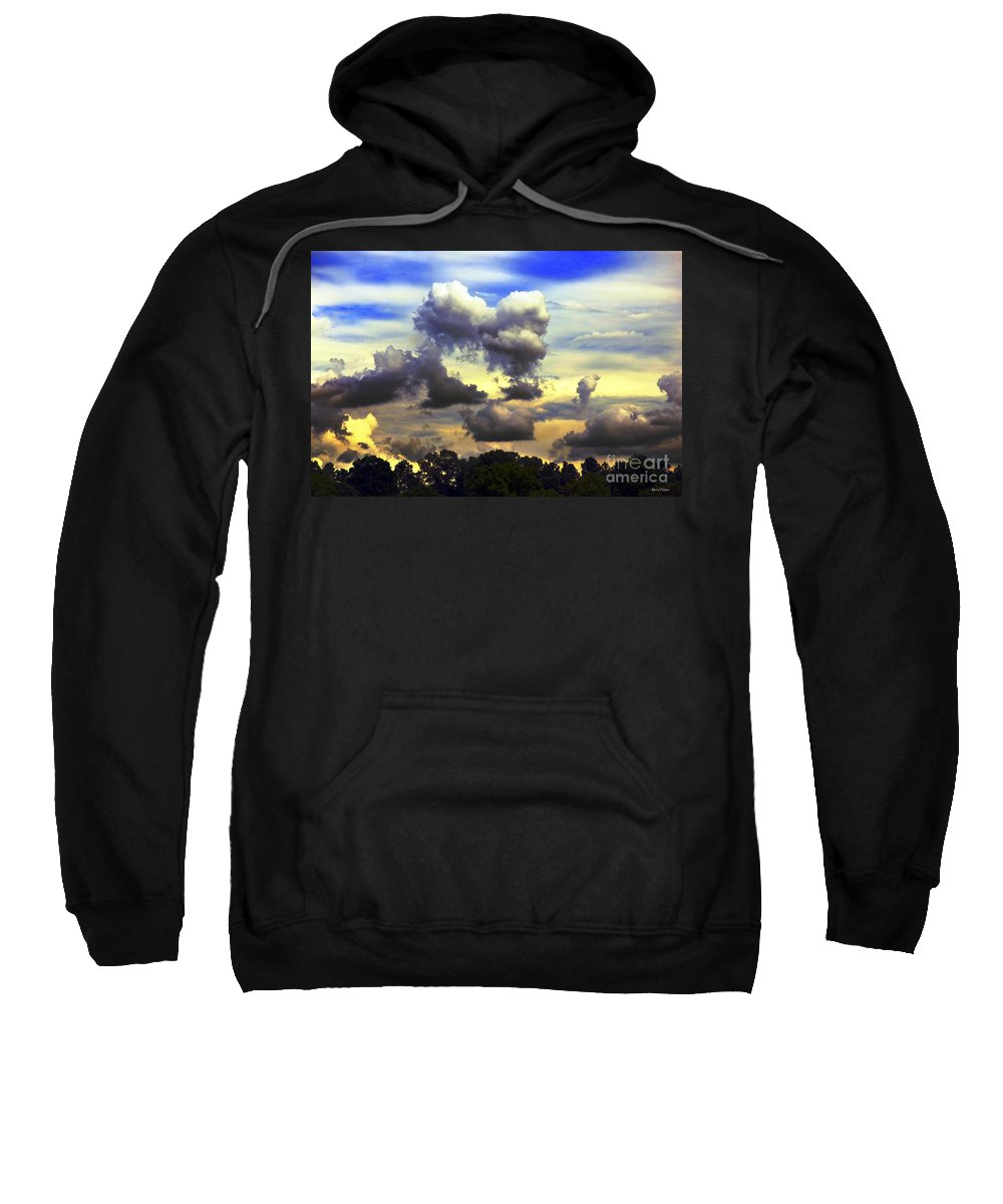 Break Sweatshirt featuring the photograph Break In The Clouds by Maria Urso