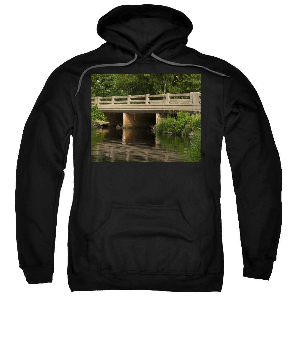 Photography Sweatshirt featuring the photograph Bridge by Steven Natanson