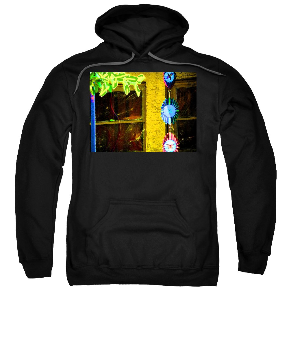 Abstract Sweatshirt featuring the photograph Bringing Nature To The City by Lenore Senior
