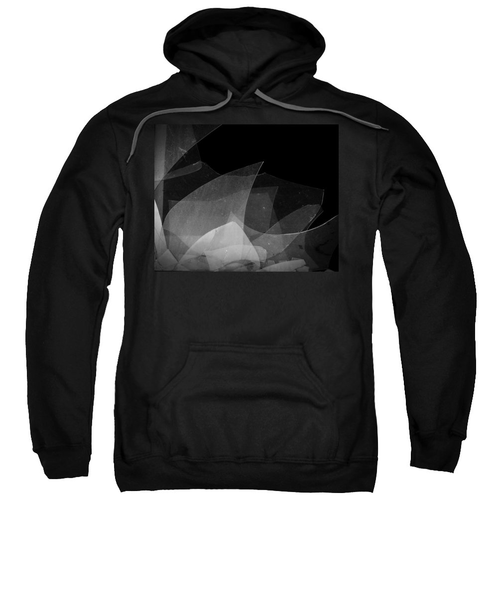 Urban Exploration Sweatshirt featuring the photograph Busted by April Davis