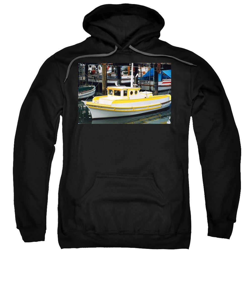 Golden Gate Sweatshirt featuring the photograph By Bye Birdie by Phil Cappiali Jr
