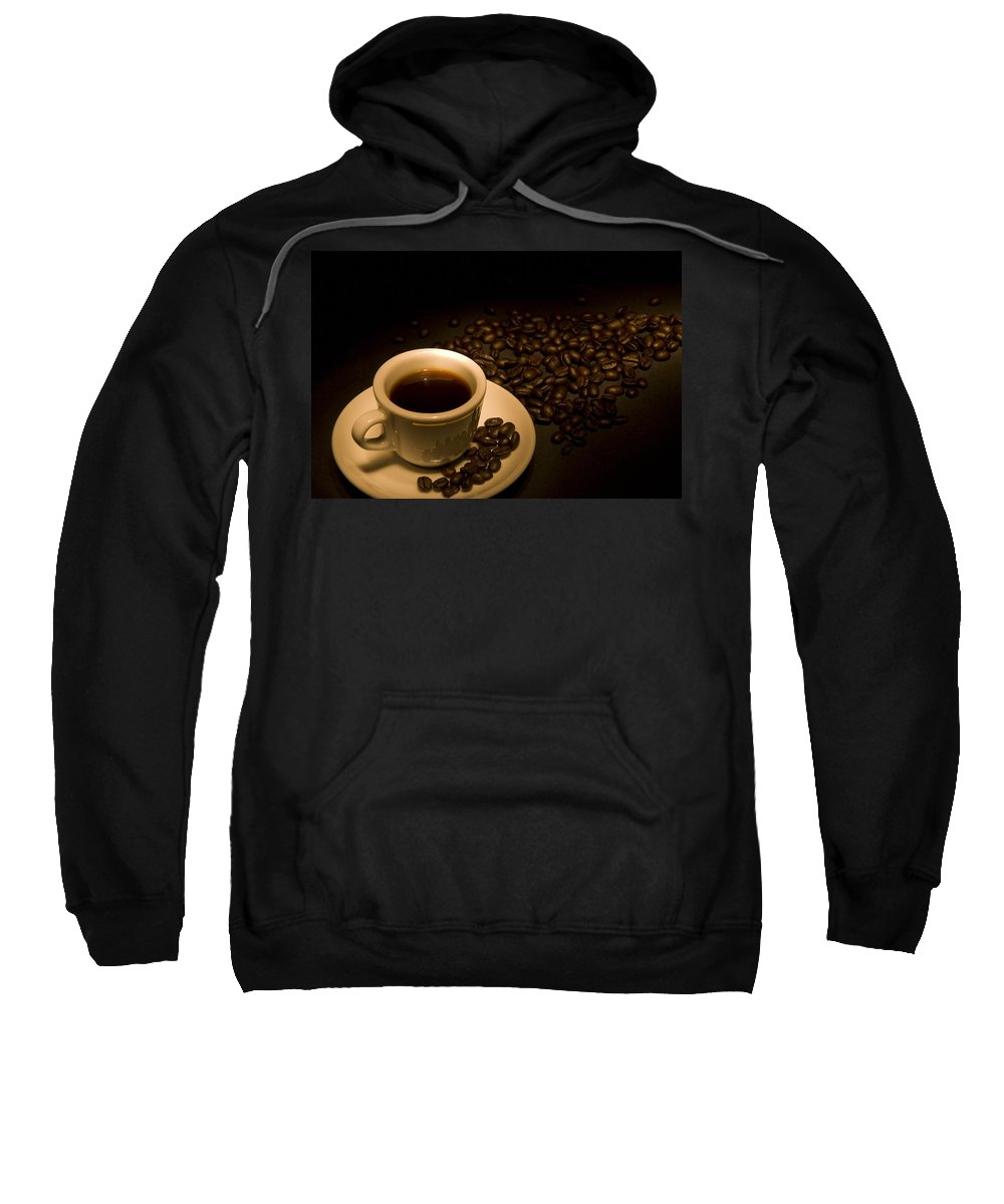 Beverage Sweatshirt featuring the photograph Calgary, Alberta, Canada Coffee Beans by Philippe Widling