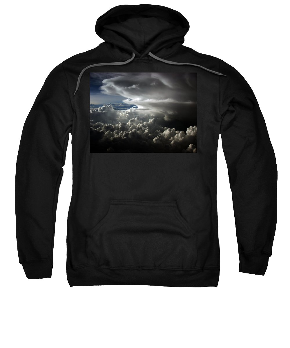 Cloud Photos Sweatshirt featuring the photograph Cb5.010 by Strato ThreeSIXTYFive