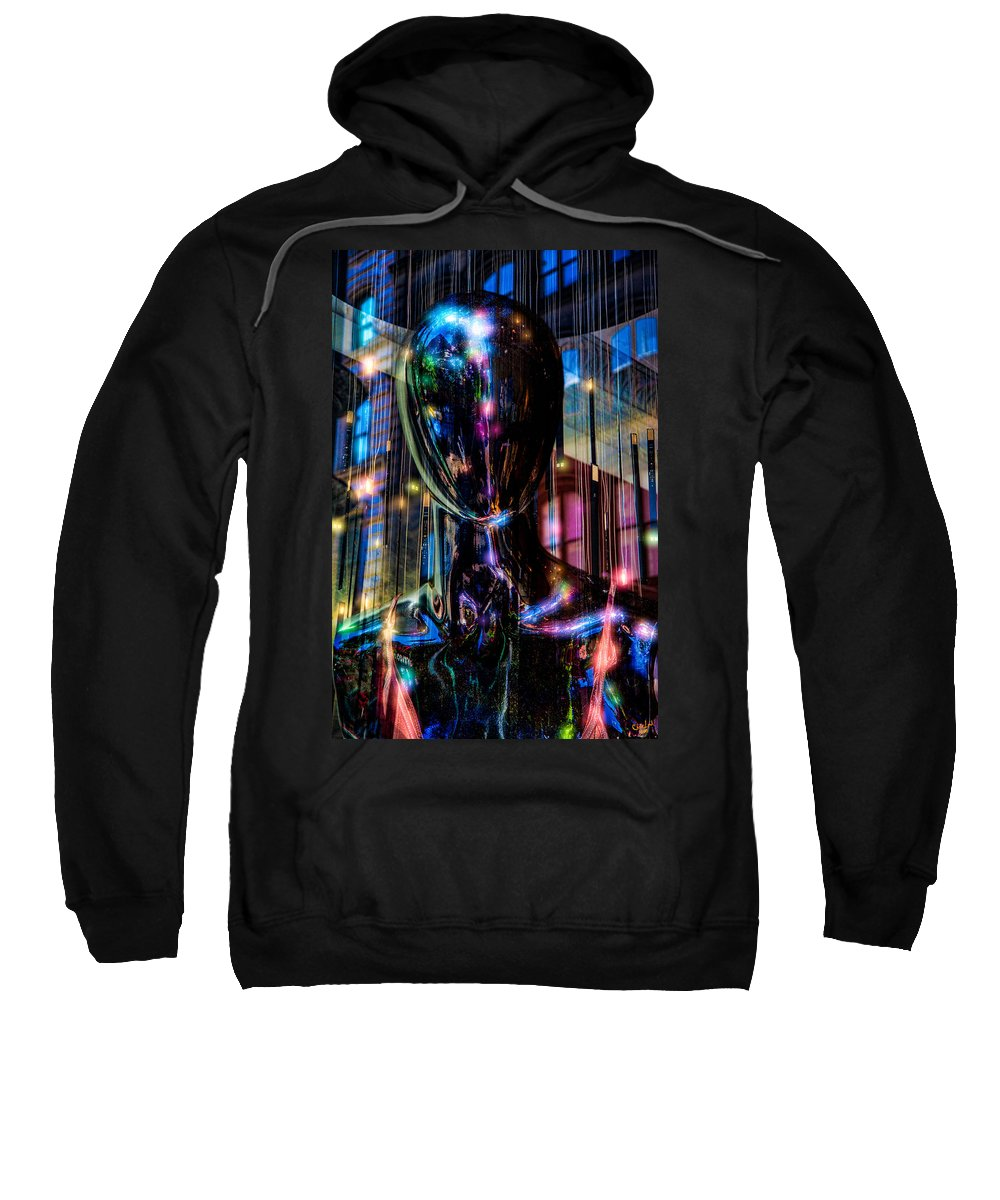 Lights Sweatshirt featuring the photograph Channeling The Force by Chris Lord