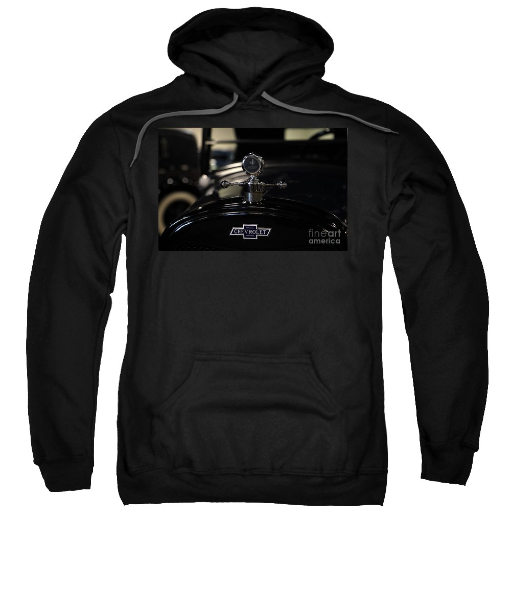 Transportation Sweatshirt featuring the photograph Chevrolet by Nina Prommer