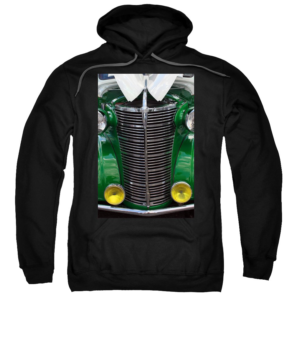 Chevy Sweatshirt featuring the photograph Chevy Truck by Carolyn Stagger Cokley