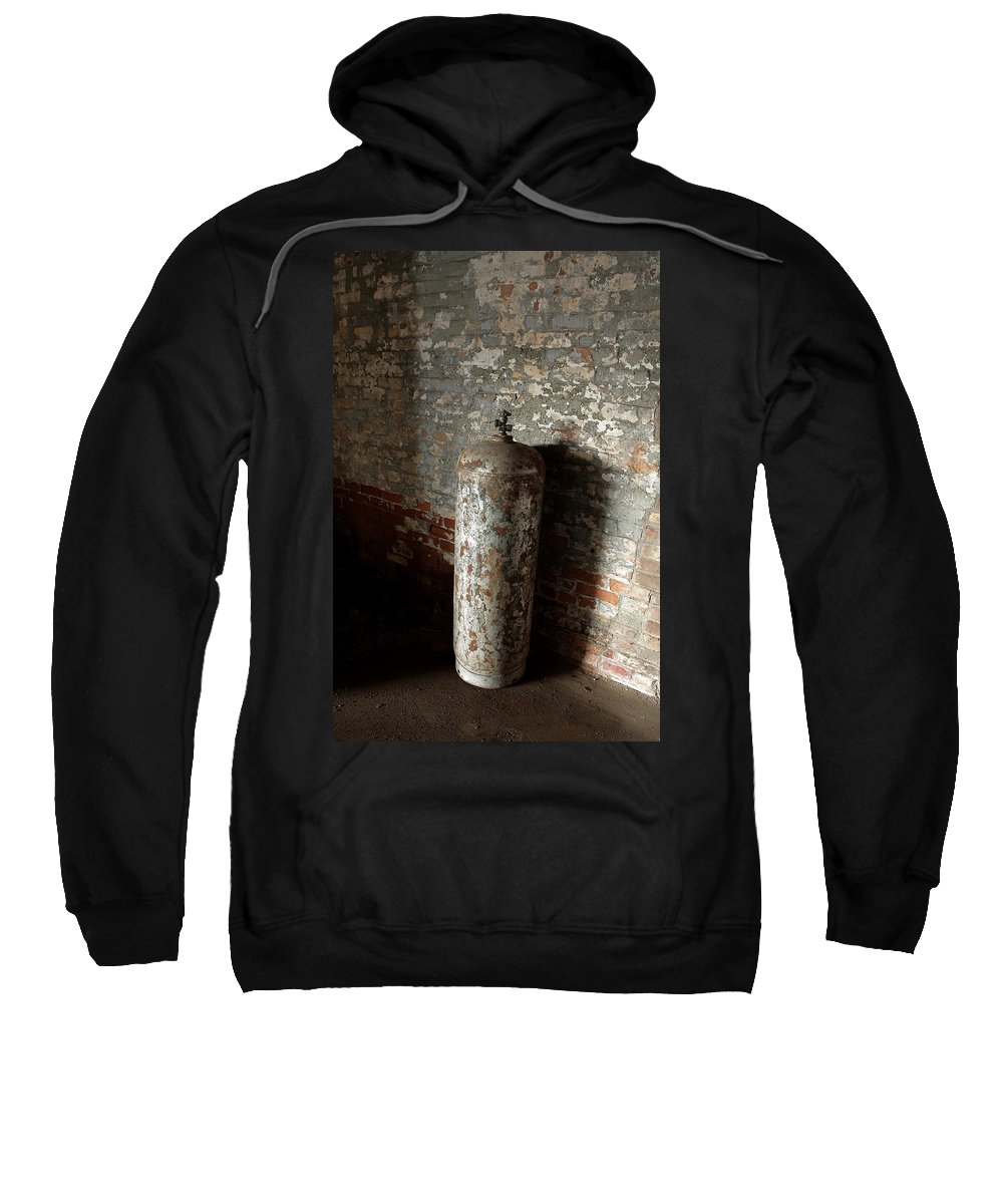 Chipped Paint Sweatshirt featuring the photograph Chipped by Maglioli Studios