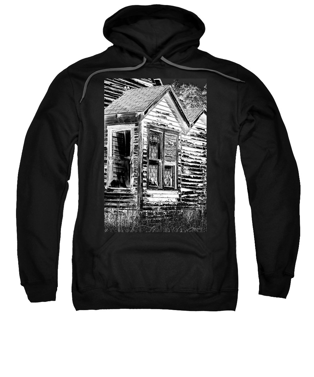 House Sweatshirt featuring the photograph Clapboards And Lace by Phyllis Denton