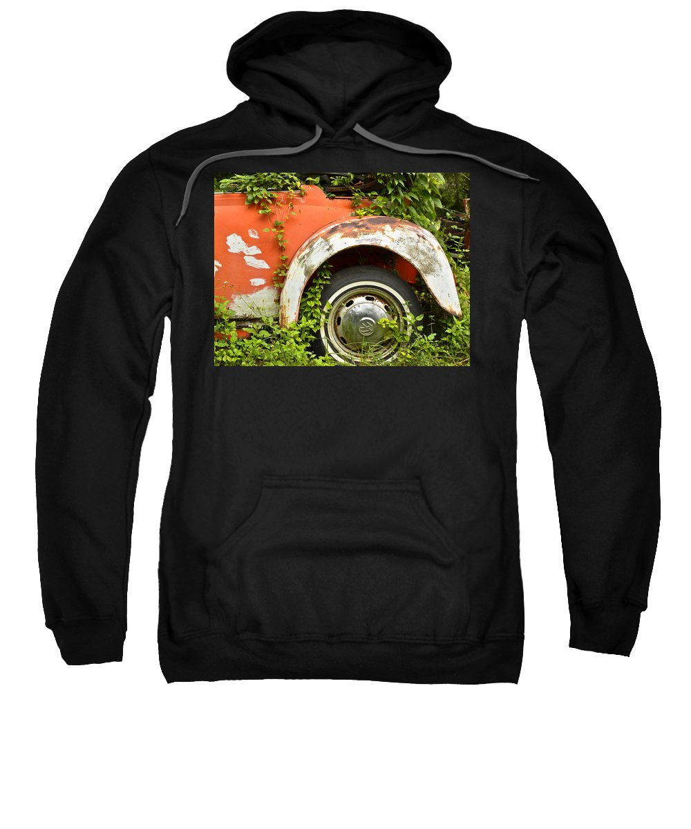 Volkswagen Sweatshirt featuring the photograph Classic Car Forgotten by Carolyn Marshall