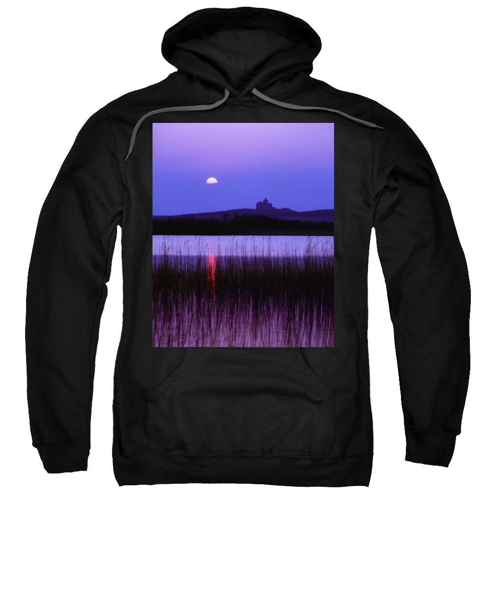 Body Of Water Sweatshirt featuring the photograph Classiebawn Castle, Mullaghmore Head by The Irish Image Collection