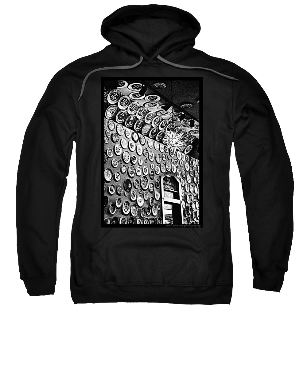 Black And White Sweatshirt featuring the photograph Collector by Sheri Bartoszek
