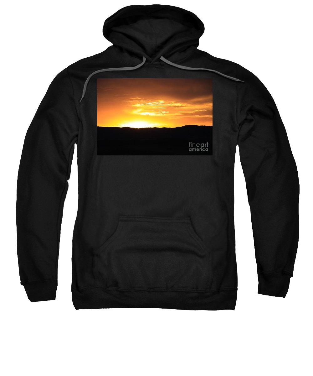 Sunset Sweatshirt featuring the photograph Colorado Sunset by Dana Kern