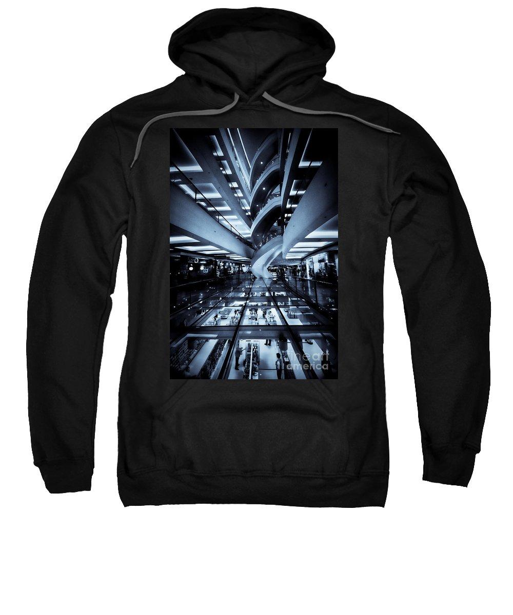 Yhun Suarez Sweatshirt featuring the photograph Convergence Zone by Yhun Suarez