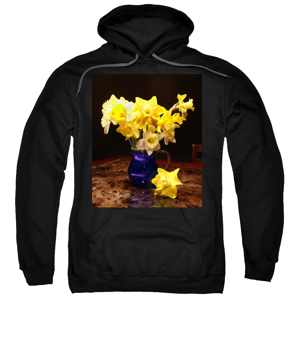 Flowers Sweatshirt featuring the photograph Daffodil Bouquet by Steve Karol