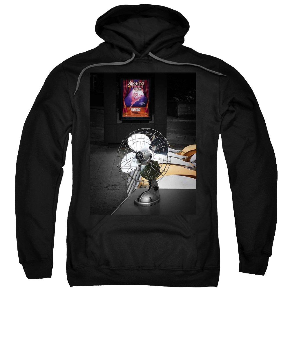 Fan Sweatshirt featuring the photograph Dance by Charles Stuart
