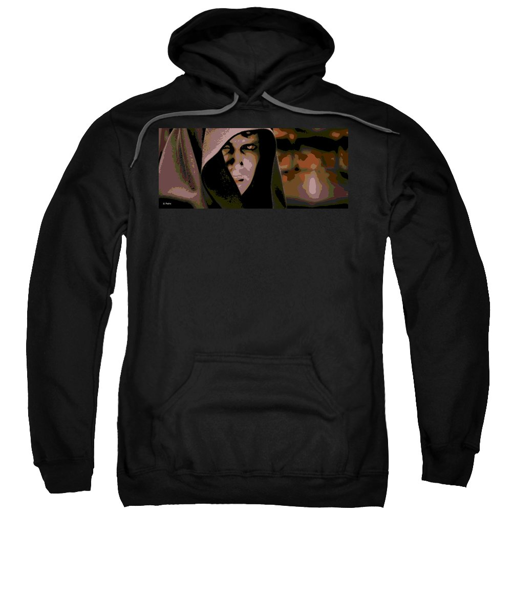 Anakin Skywalker Sweatshirt featuring the photograph Darkness by George Pedro