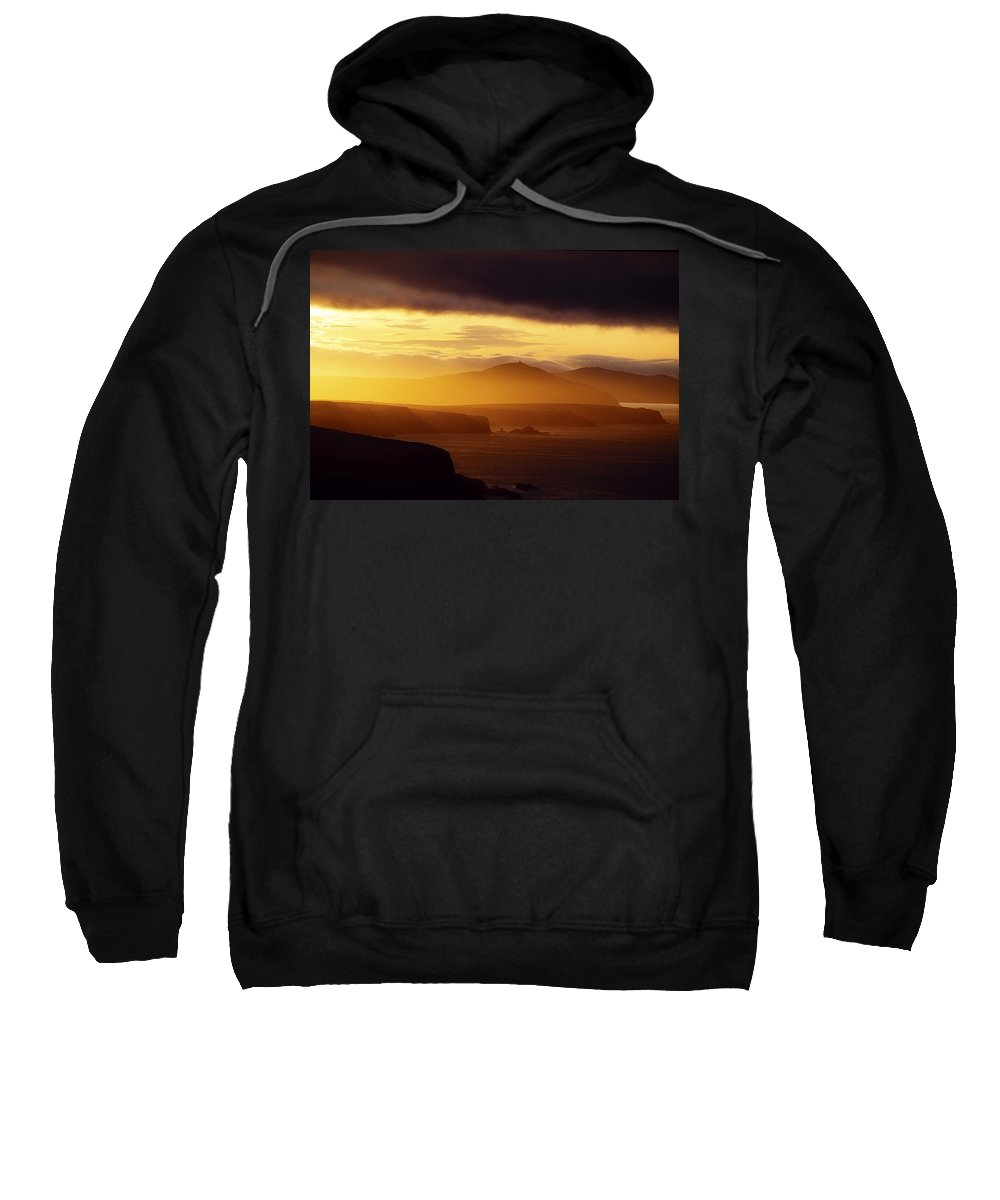 Body Of Water Sweatshirt featuring the photograph Dingle Peninsula, County Kerry by The Irish Image Collection
