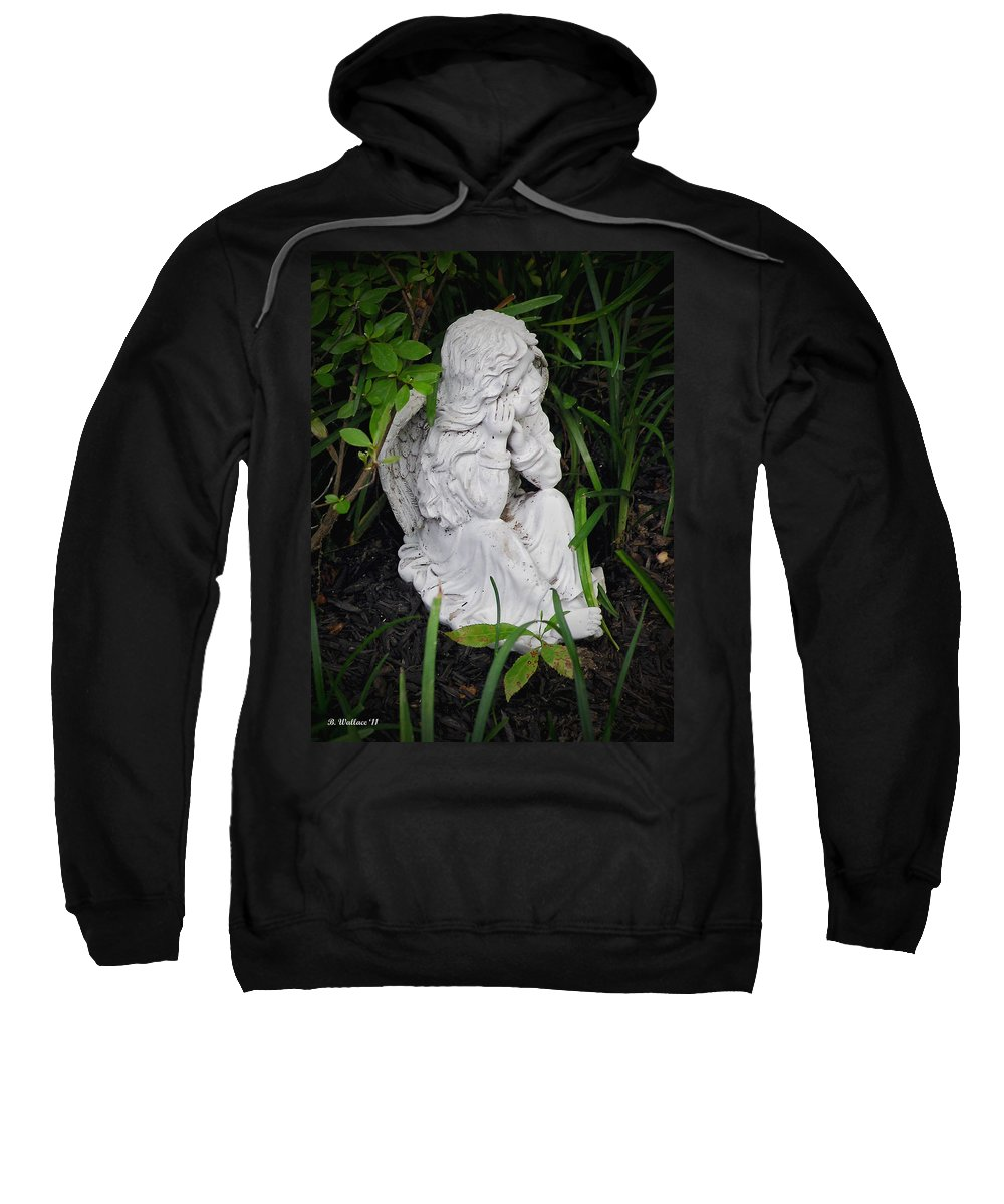 2d Sweatshirt featuring the photograph Dirty Little Angel by Brian Wallace