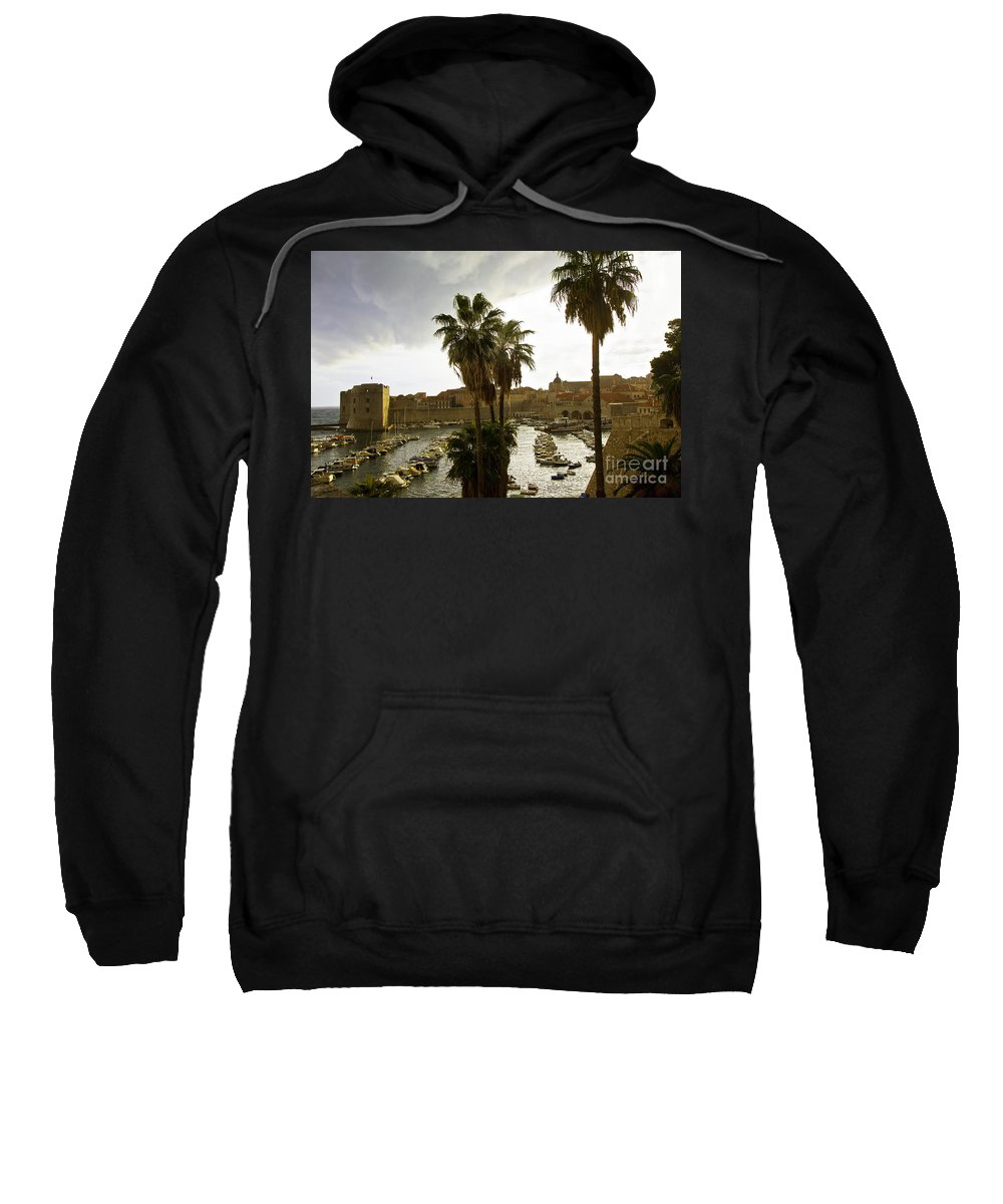 Dubrovnik Sweatshirt featuring the photograph Dubrovnik View 6 by Madeline Ellis