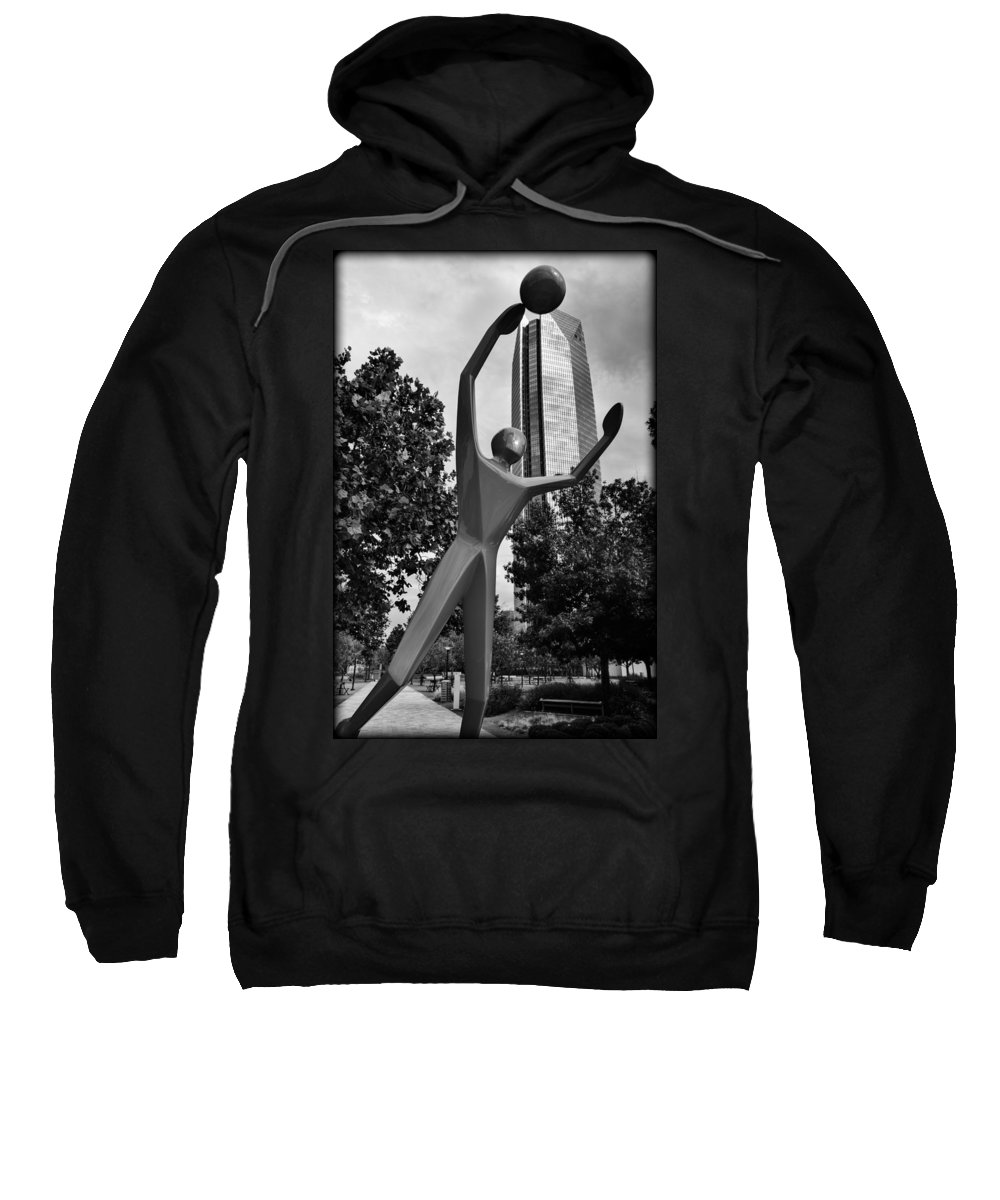 Sculpture Sweatshirt featuring the photograph Dunking Over Devon by Ricky Barnard