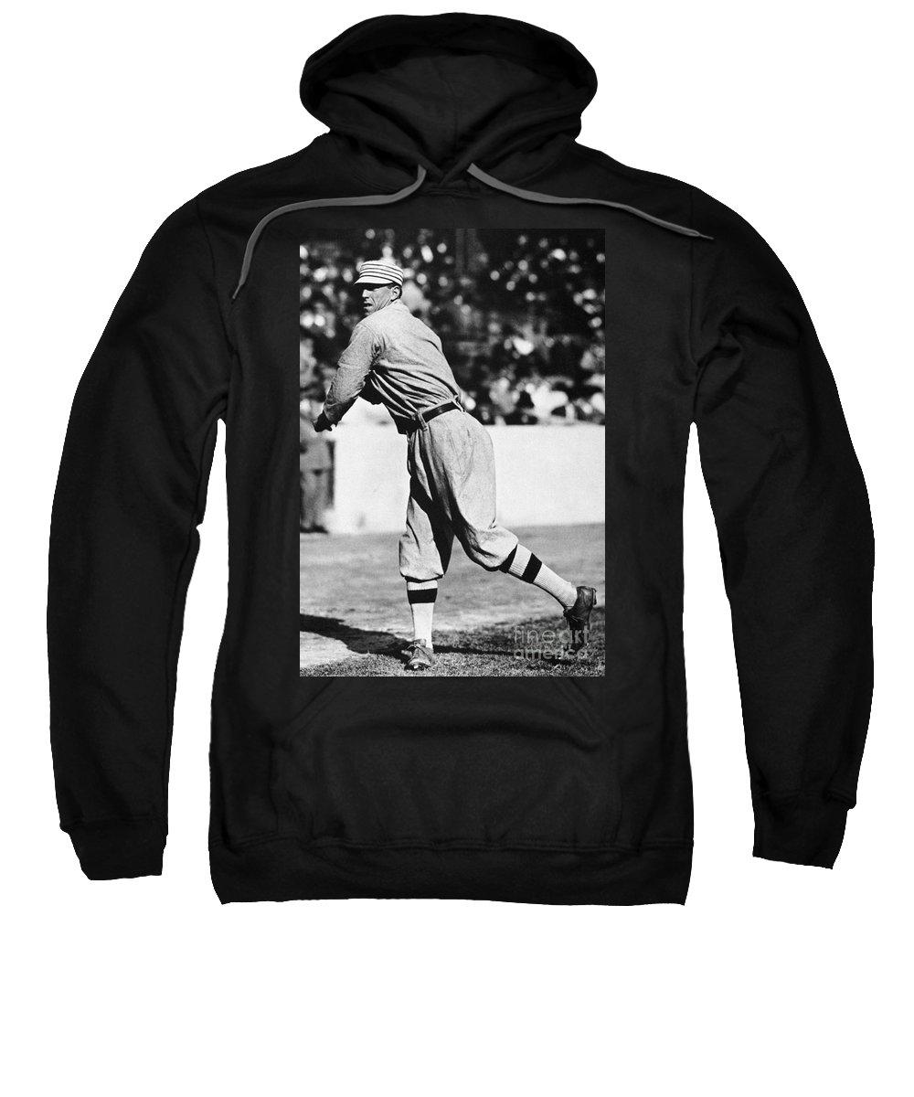 20th Century Sweatshirt featuring the photograph Eddie Plank (1875-1926) by Granger