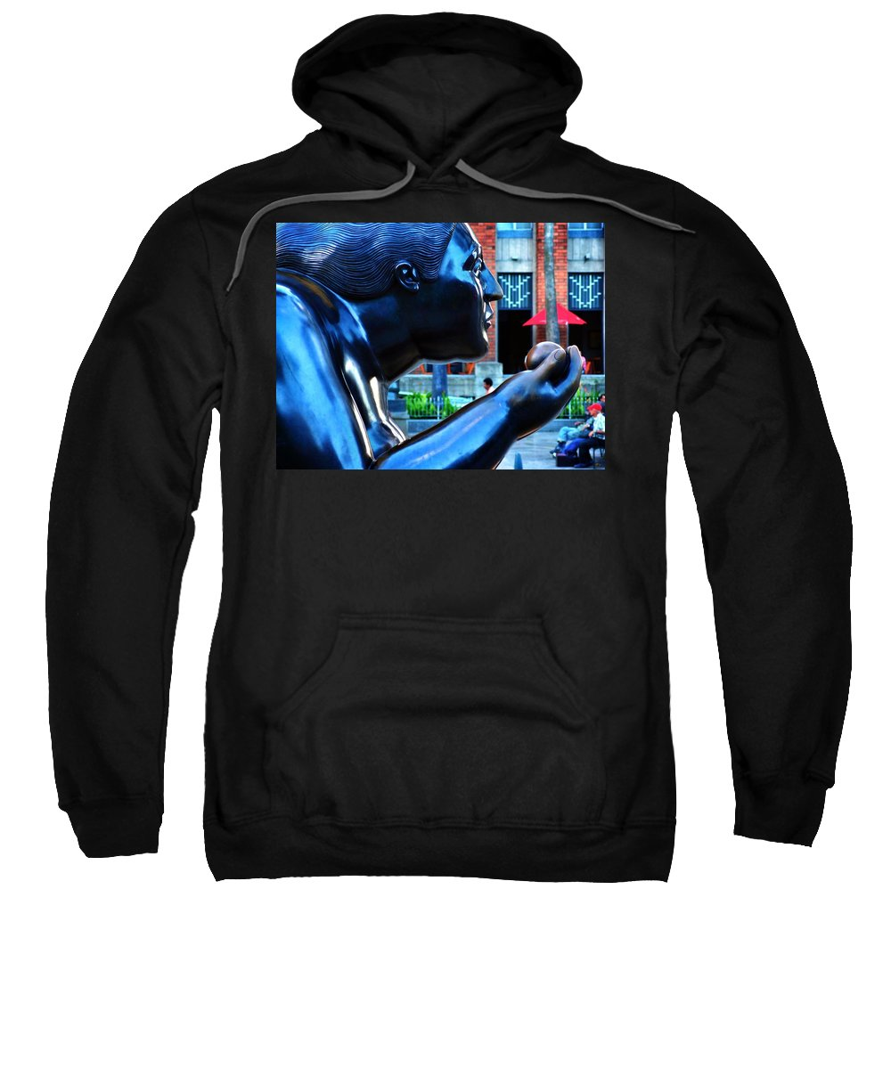 Eve Sweatshirt featuring the photograph Eve by Skip Hunt