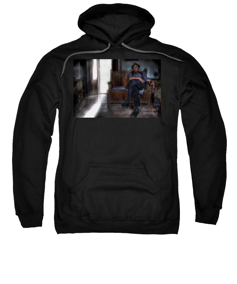 Art Sweatshirt featuring the photograph Exit by Yhun Suarez