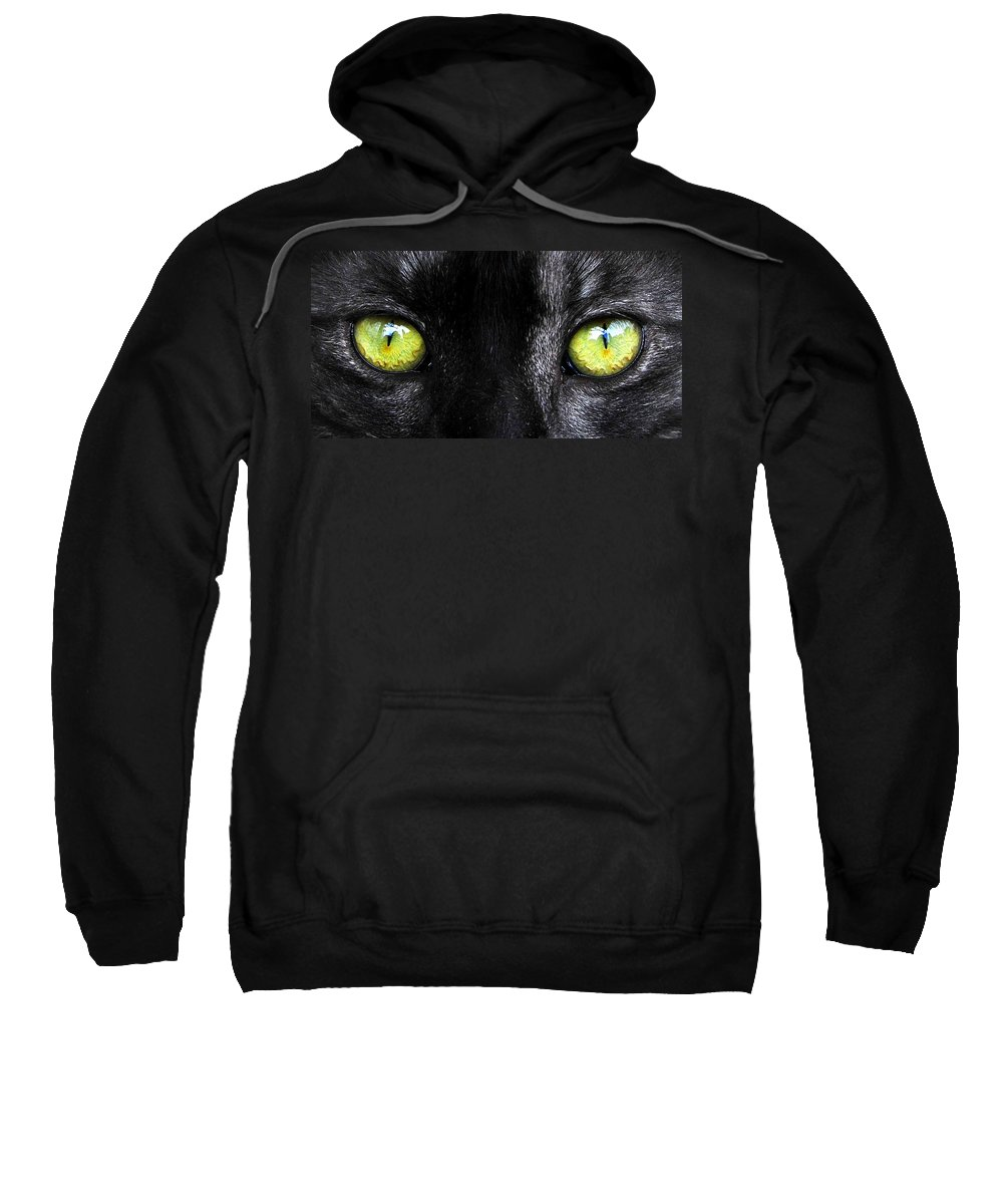 Fine Art Photography Sweatshirt featuring the photograph Eyes by David Lee Thompson