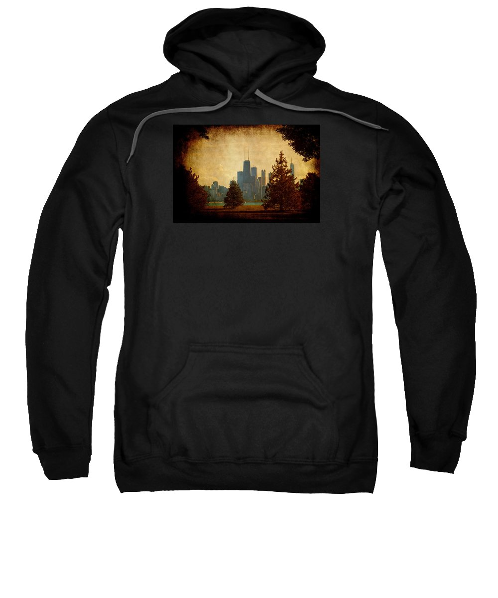 Lake Sweatshirt featuring the photograph Fall In The City by Milena Ilieva