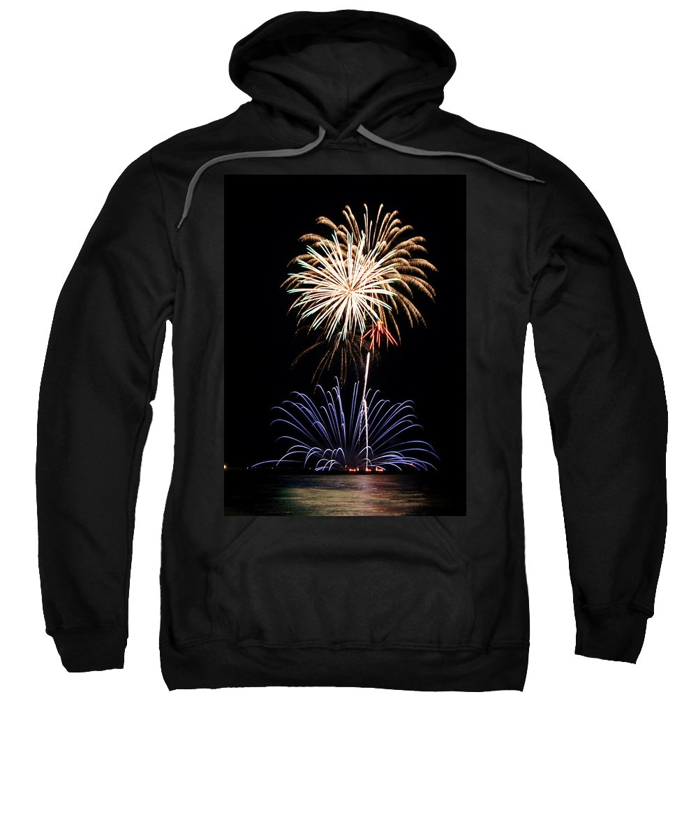 Fireworks Sweatshirt featuring the photograph Fireworks Abound by Bill Pevlor