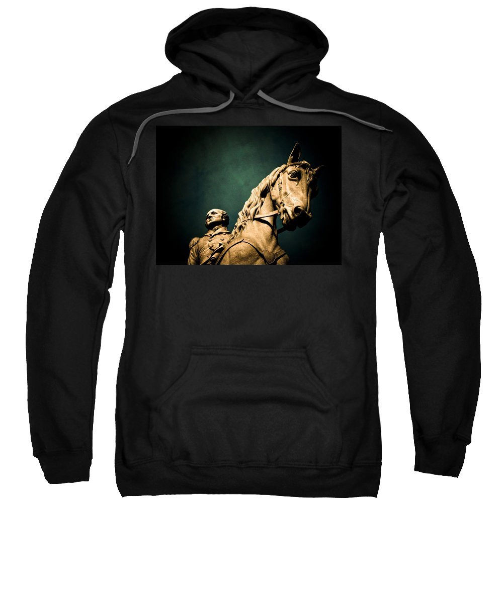 President Sweatshirt featuring the photograph First And Foremost by Jessica Brawley