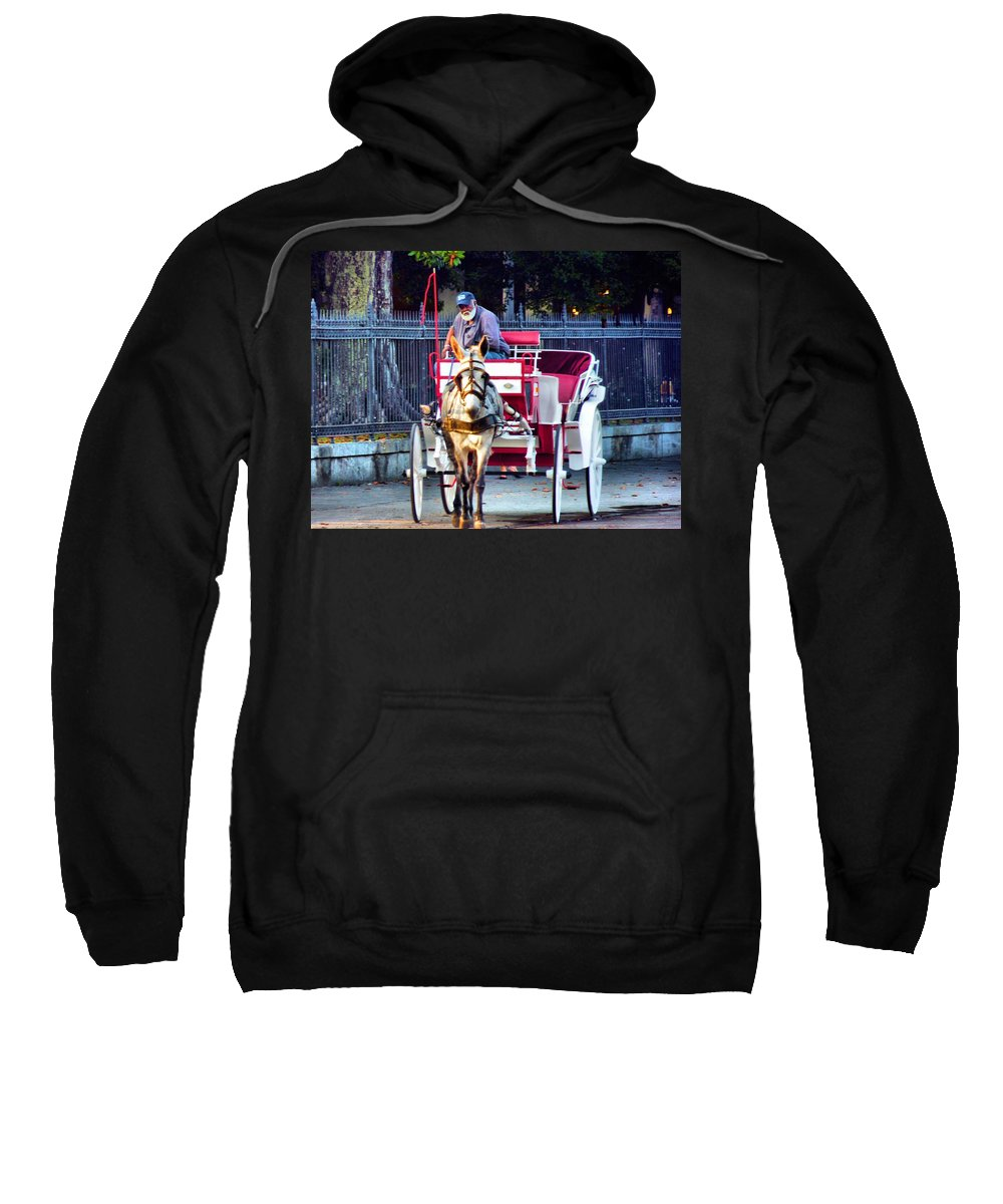 Buggy Sweatshirt featuring the photograph For Tourist Only by Anthony Walker Sr